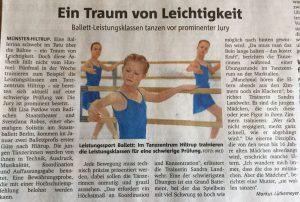 Münsterische Zeitung 25.11.16