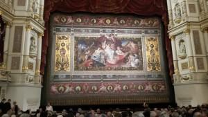 Semperoper Dresden-Bühne auf Nussknacker Dezember 2014